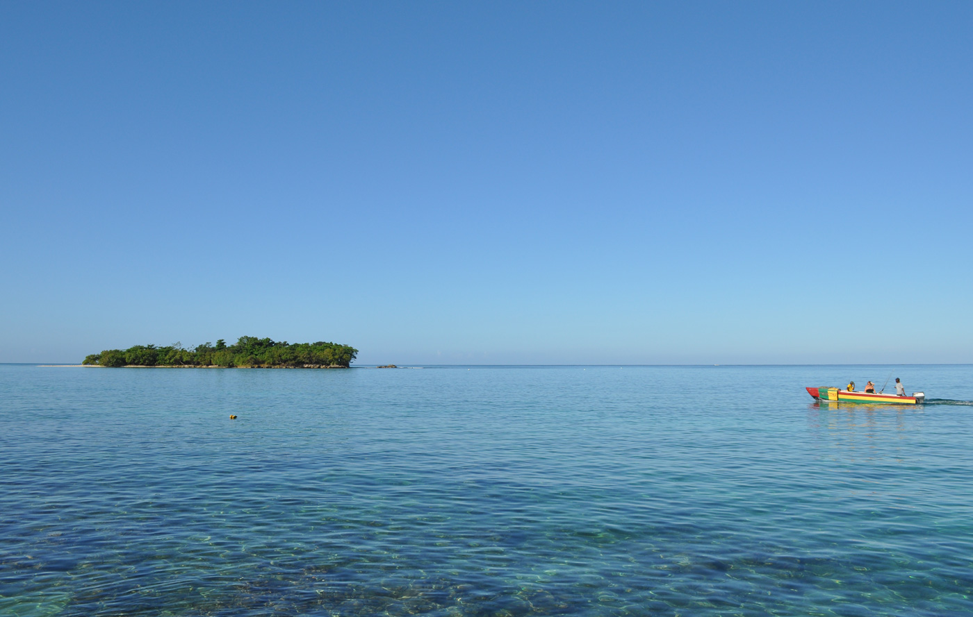 Dry Land Tourist Jamaica Negril Point Village Booby Cay